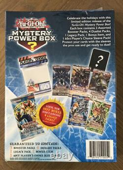 Yu-Gi-Oh! Mystery Power Box Limited Holiday Edition Brand New Factory Sealed