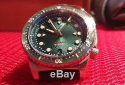 Zelos Mako V2 500m Diver Emerald Green Limited Edition Brand New