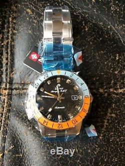 Zodiac Aerospace Gulf GMT Limited Edition 182 made Brand new