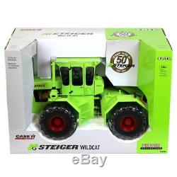 1/16 Limited Ed 50e Anniversaire Steiger Wildcat 4wd Par Ertl 44099 Neuf