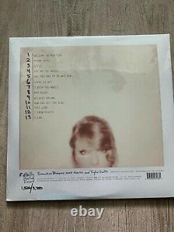 1989 Taylor Swift Vinyl Clair Et Rose De 2018 Rsd Record Store Jour Tout Neuf