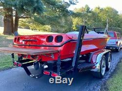 1997 Malibu Corvette Limited Edition Wakeboard Bateau Marque Nouveau