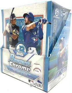 2021 Bowman Chrome Baseball Hobby Box Nouvelle Marque Scellée Livraison De Priorité Gratuite