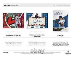 2021 Panini Absolute Baseball Hobby Box Nouvelle Marque Scellée Livraison De Priorité Gratuite