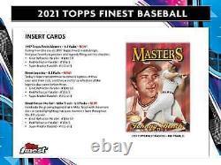2021 Topps Finest Baseball Hobby Box Nouvelle Marque Scellée Livraison De Priorité Gratuite
