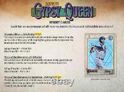 2021 Topps Gitane Queen Baseball Hobby Box Nouvelle Marque Livraison Gratuite