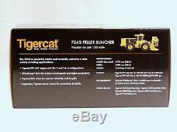 Abatteuse-groupeuse Sur Roues Tigercat 724g 1/32 - Enregistrement Tout Nouveau Sous Pression