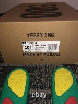 Adidas Yeezy Boost 500 Chaussures En Pierre Taille 10.5 Tout Nouveau Fw4839