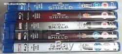 Agents De Bouclier Seasons 1-5 Brand New Blu-ray Set 1 2 3 4 5 Marvel S. H. I. E. L. D