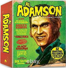 Al Adamson The Masterpiece Collection Blu-ray No Book In Slipcase Brand New
