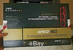 Amd Radeon VII Gold Edition Limited Edition Brand New Sealed Absolument Utilisé