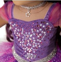 American Girl Sugar Plum Fairy Doll Avec Swarovski Limited Edition Marque Nouvelle