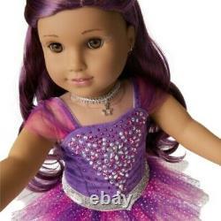 American Girl Sugar Plum Fairy Poupée Avec Swarovski Limited Edition Tout Neuf