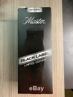 Andis Black Label ML Maître Clipper # 1705 Édition Limitée Du Produit 1705