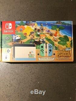 Animal Crossing Nintendo Console Switch Limited Edition Bundle Brand New Sealed