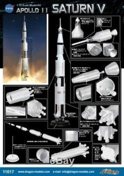 Apollo 11 Saturn V Rocket Cyber hobby 1/72 Meilleur Prix Marque Japon Nouvelle