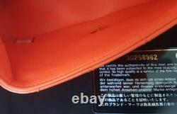 Authentique Chanel Summer Mini Nectarine/peach Flap Bag Lambskin Rare & Brand New