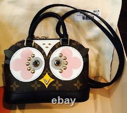 Authentique Louis Vuitton Limited Edition Alma Nano Owl Flambant Neuf