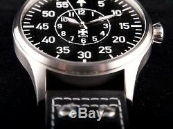 B-uhr Grand Pilote Type B Logo 50 Mm, Édition Limitée, Neuf + Carte De Garantie