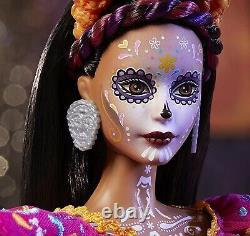 Barbie 2021 Dia De Muertos Doll, Brand New & Factory Seeled, Navires Très Accessoire