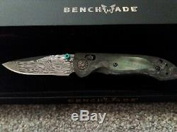 Benchmade 698-181 Foray Gold Class Limited Edition -brand Nouveau