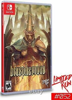 Blasphématoire Édition Spéciale Limited Run Games #052 Nintendo Switch Flambant Neuf