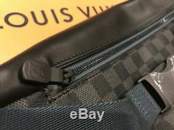 Brand New Authentique Louis Vuitton Damier Découverte Du Corps Sac De Taille Sac Banane N40187