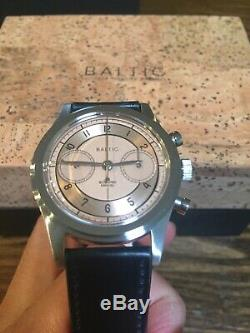 Brand New Baltic X Worn & Wound Bi-compax Montre Chronographe Limited Edition 100