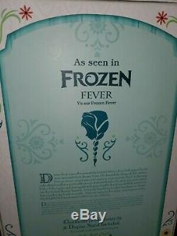 Brand New Disney Store Limited Edition 17 Frozen Fever Anna Doll