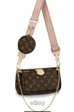 Brand New Louis Vuitton Multi Pochette Accessoires Rose Bracelet Out Vendu