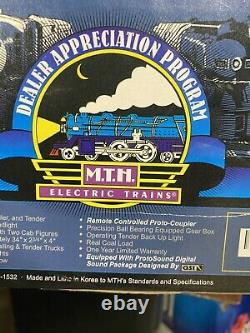 Brand New Mth 20-80001a Union Pacific 4-8-8-4 Locomotive Et Appel D'offres À La Vapeur Grand Garçon