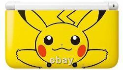 Brand New Nintendo 3ds XL Pikachu Yellow Limited Edition U. S. Version
