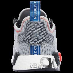 Brand New Originals Adidas Nmd R1 Athletic Basket Chaussures De Sport Gris