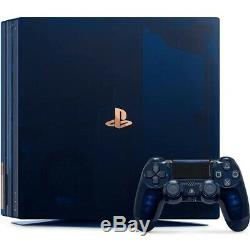 Brand New Playstation 4 Ps4 Pro Translucide 2 To Édition Limitée À 500 Millions