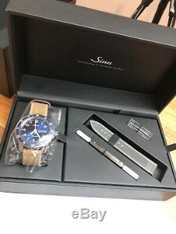 Brand New Sinn 104 St Sa A B E Cadran Bleu Limited Edition Jamais Worn