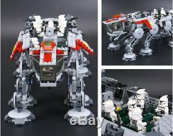 Brand New Star Wars Republic Dropship 10195 At-ot Walker 1788pcs Pour Lego 7d Dhl