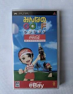 Brand New System Console Psp Coca Cola Limited Edition Bundle Pas À Vendre