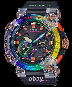 Casio G-shock Gwf-a1000brt-1a Gwfa1000brt Rainbow Limited Nouvelle Marque Ups Express