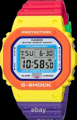 Casio G-shock Special Edition Dw5610dn-9 Multicolore 2020 Flambant Neuf