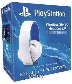 Casque Stéréo Sans Fil Playstation Gold 2.0, Édition Limitée, Neuf