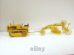 Caterpillar R2 Tracteur Sur Chenilles Et N ° 4 Grader 1/16 Spec Cast Marque Nouveau