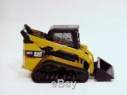 Chargeuse Compacte Sur Chenilles Caterpillar 287d 1/24 CCM Miniature