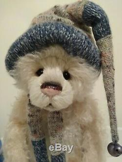 Charlie Bears Toastie Brand New Edition Limitée De 350 Isabelle Mohair Ours