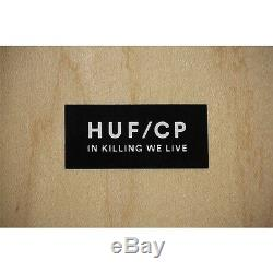 Cleon Peterson Huf Skate Skateboards Limited Edition Marque Nouveau