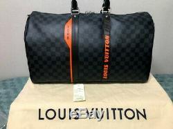 Cobalt Race Damier Louis Vuitton Keepall 45 Bandoulière Brand New