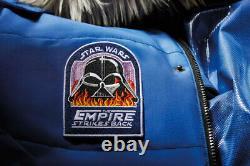 Columbia Star Wars, L'édition Limitée Empire Crew Parka Tout Nouveau Grand