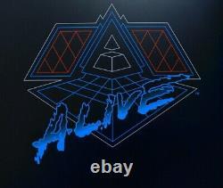 Daft Punk Alive 2007 X2 Lp Précom Commander Avril Double Vinyle Brand New Sealed