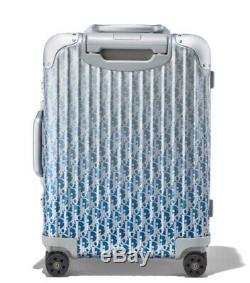 Dior Rimowa Valise Cabine Gradient Bleu Marque Nouveau Limitée Carry Bag Edition Sur