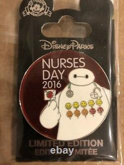 Disney Big Hero 6 Baymax Nurses Day 2016 Pin Edition Limitée 5000 Pin Brand New