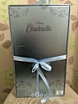 Disney Cinderella Limited Edition Doll 70e Anniversaire Neuf Dans La Bote & Rare
